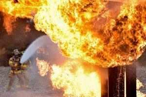 sprzęt przeciw pożarowy